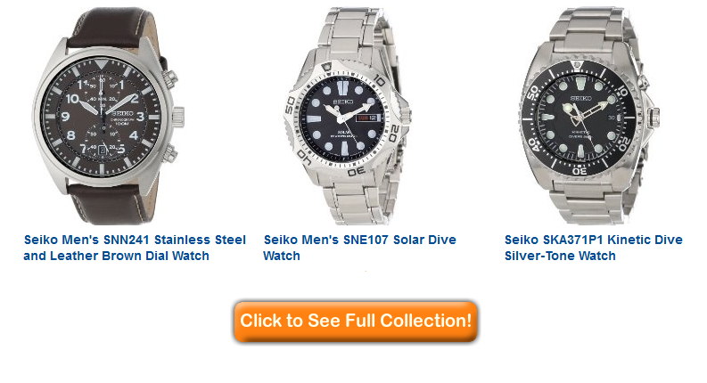 Seiko mens watches