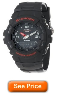 Casio G-Shock Men's G100-1BV