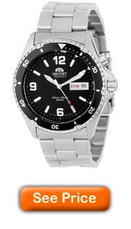 Orient Men's CEM65001B Black Mako