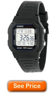 Casio W800H-1AV review