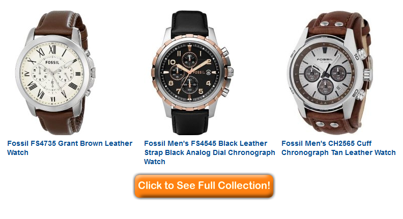 Fossil mens watches